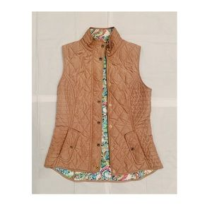 Lilly Pulitzer Quilted Vest
